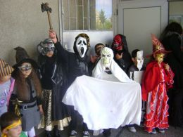 Halloween 2011 - ОУ Граф Н. Игнатиев - Граф Игнатиево, Пловдив